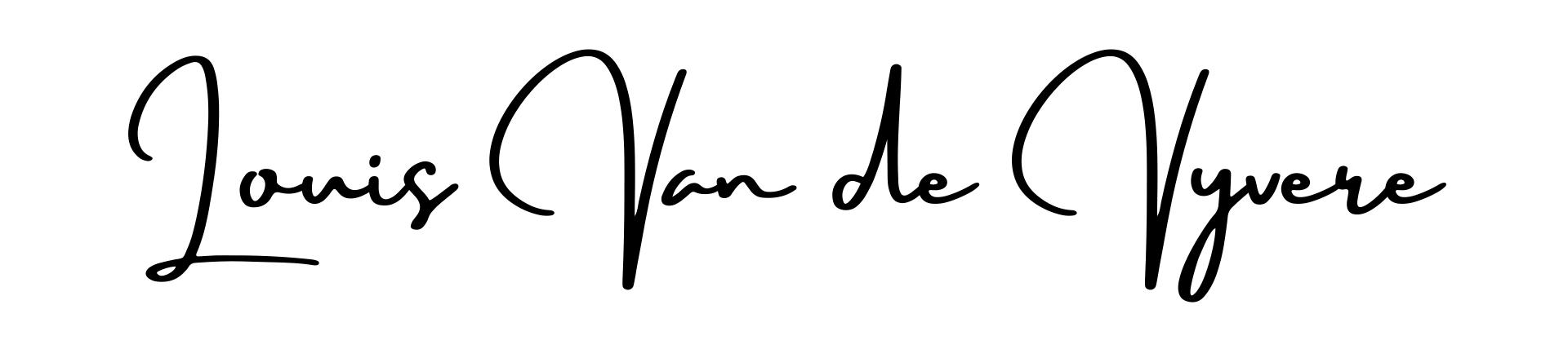 Louis Van de Vyvere